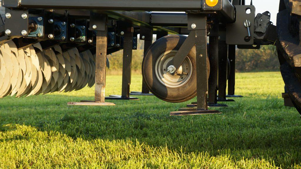 V-Schare schneiden in einer Höhe von 2-10cm